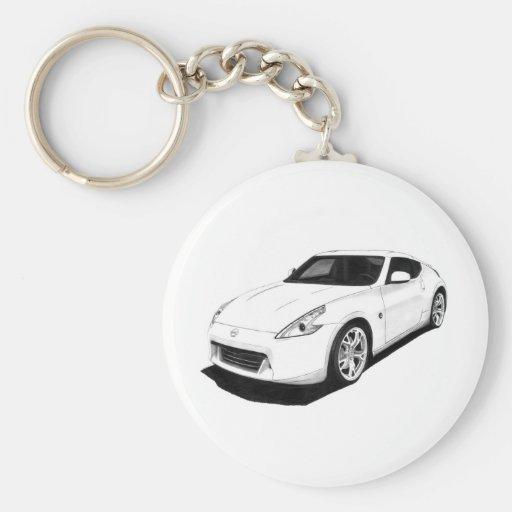 Nissan 370Z Artwork Key Chains