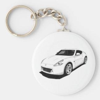 Nissan 370Z Artwork Keychain