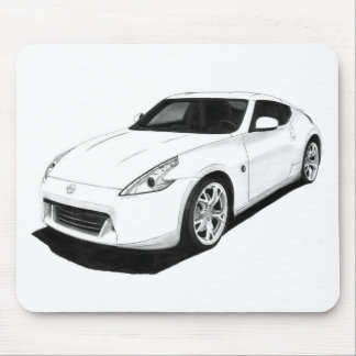 Nissan 370Z Artwork Mouse Pad
