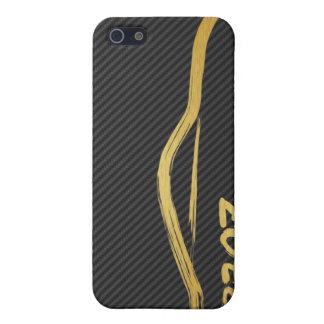 Nissan 370z Gold Brush Stroke iPhone SE/5/5s Case