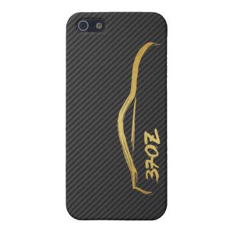 Nissan 370z Gold Brush Stroke iPhone SE/5/5s Cover