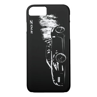 Nissan 370z Roadster (front view) iPhone 8/7 Case