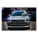 Nissan Altima 2009 Póster