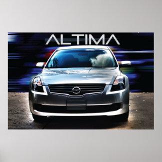 Nissan Altima 2009 Póster