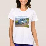 Nissan cubica en la bahía camisetas