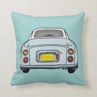 Nissan Figaro Blue cartoon car cushion pillow