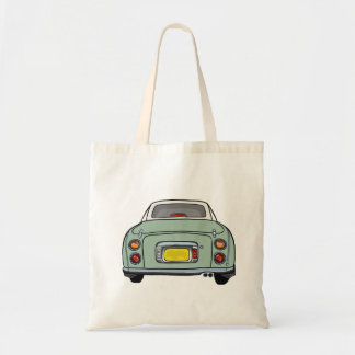 Nissan Figaro - Emerald Green - Tote Bag