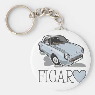 Nissan Figaro Pale Aqua Keychain
