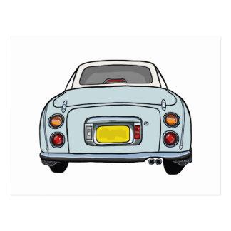 Nissan Figaro - Pale Aqua - Postcard