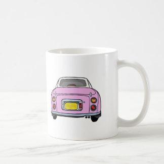 Nissan Figaro - taza rosada del coche