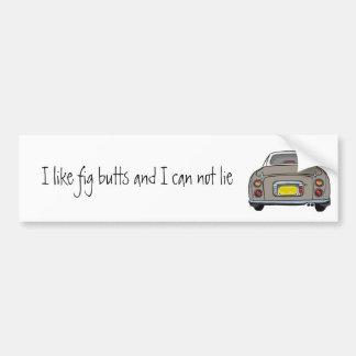 Nissan Figaro - Topaz Mist - Bumper Sticker