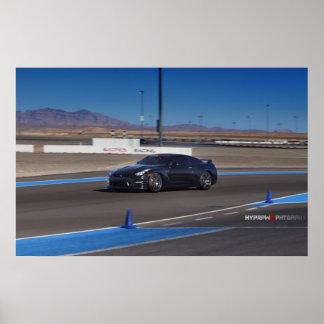 Nissan GT-R R35 en la pista Impresiones