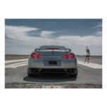 Nissan GT-R ready to race Posters