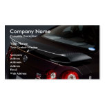 nissan-gt-r-specv-08, Company Name, Company Des... Double-Sided Standard Business Cards (Pack Of 100)
