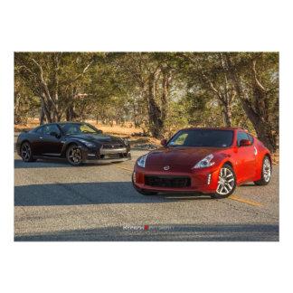 Nissan GT-R y 370Z Photoshoot Fotografías
