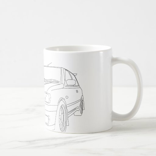 Nissan Pulsar GTiR Coffee Mugs