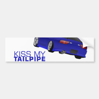 Nissan s13 (180sx/200sx/240sx) - Blue Bumper Sticker
