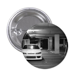 Nissan Silvia pin/plates 1 Inch Round Button