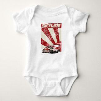 Nissan Skyline Baby Bodysuit