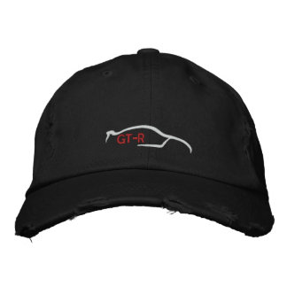 Nissan Skyline GT-R Embroidered Baseball Cap