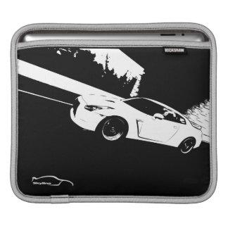 Nissan Skyline GT-R Rolling Shot iPad Sleeves