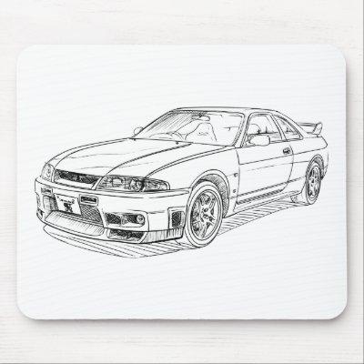 wallpaper skyline gtr. Nissan Skyline GTR R33;