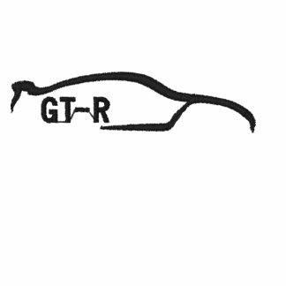 Nissan Skyline negro GT-r Polo