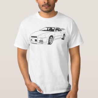 Nissan Skyline R34 GTR T-shirt