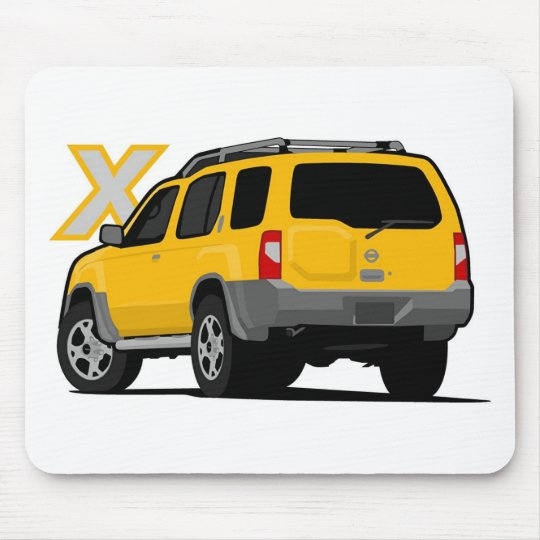300zx Turbo Yellow: Nissan Xterra Yellow Mouse Pad