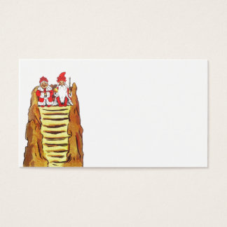 Nisse Gnome King and Queen Business Card