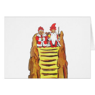 Nisse Gnome King and Queen Card