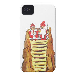 Nisse Gnome King and Queen Case-Mate iPhone 4 Case