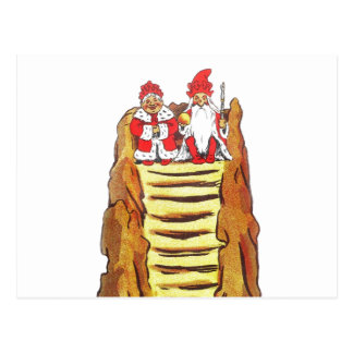 Nisse Gnome King and Queen Postcard