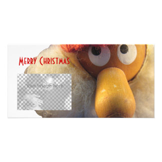 Nisse Holiday photocard Card