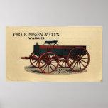 Nissen Wagon- 1823 Print