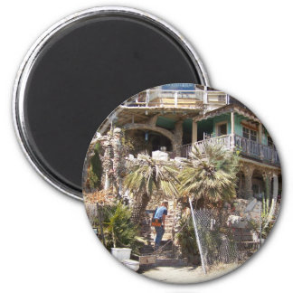 Nit Wit House Cambria, CA. 2 Inch Round Magnet
