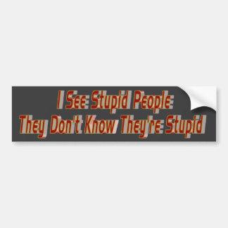 Nit Wits Bumper Sticker