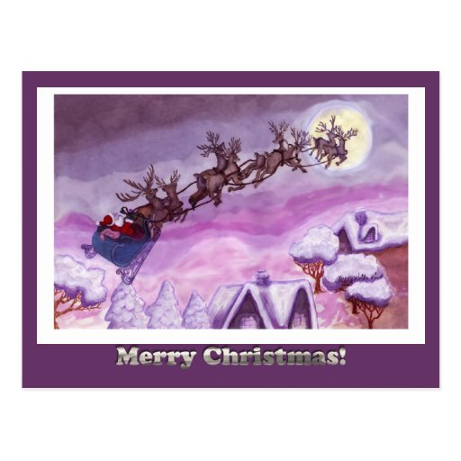Nite Before Christmas Postcard - Customized