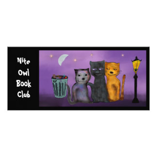 Nite Owl Book Club Bookmarks Full Color Rack Card