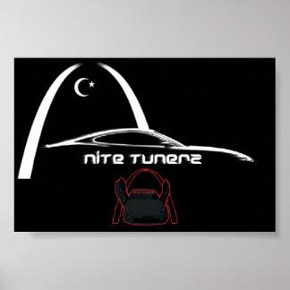 Nite Tunerz Poster