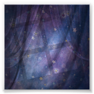 Nite Wizard Photography Backdrop Poster