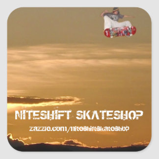 Niteshift Buisness Sticker