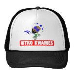Nitro Kwames Jumping Text Trucker Hat