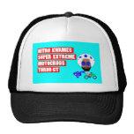 Nitro Kwames Title Page Logo Trucker Hat