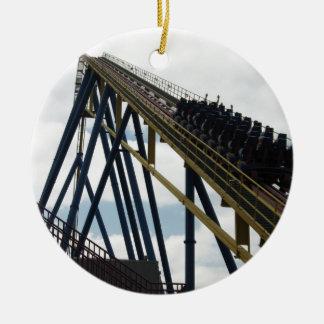 Nitro Roller Coaster Six Flags Great Adventure Ornament