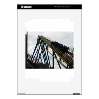 Nitro Roller Coaster Six Flags Great Adventure Decal For iPad 2