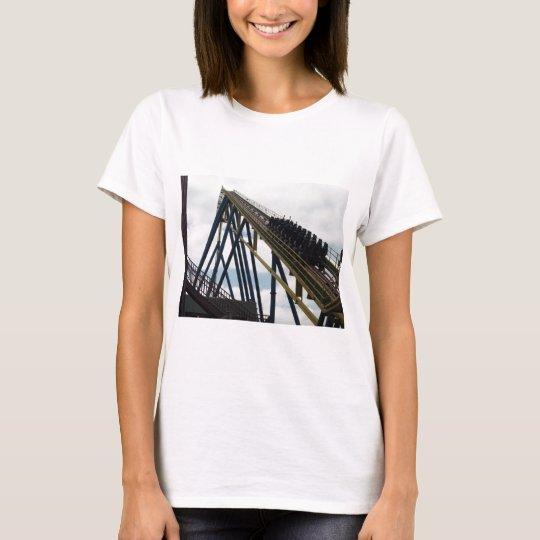 Nitro Roller Coaster Six Flags Great Adventure T-Shirt
