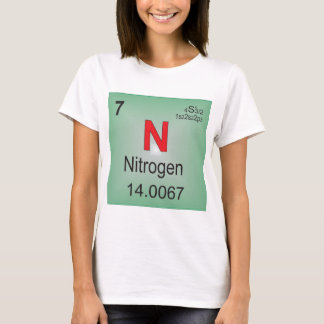 Nitrogen Individual Element of the Periodic Table T-Shirt