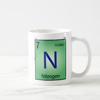 Nitrogen (N) Element Mug