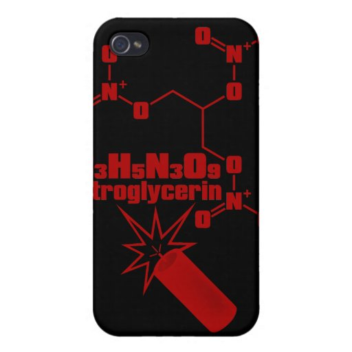 nitroglycerin covers for iPhone 4
